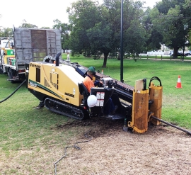 Directional Drilling in Park